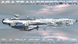Agatean Destroyer | Darkstar AF-O | Download Now Available! Minecraft Map & Project