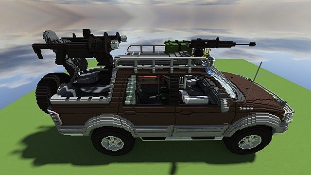 Ford F Zombie Survival Edition Download Added Minecraft Project - Cool zombie cars