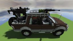 Ford F-150 Zombie Survival Edition [Download added] Minecraft