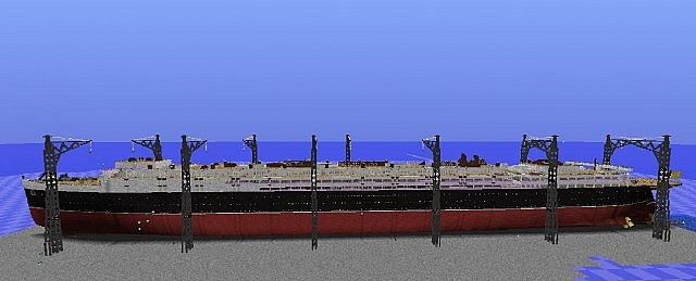 Rms Lusitania Inside C Deck Minecraft Project
