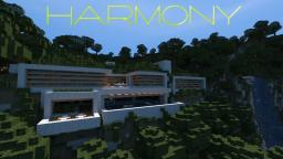 ~Harmony~ Modern Mountain Home Minecraft Map & Project