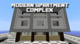 [Build] Modern Apartment Complex w/Schematic Minecraft Map & Project