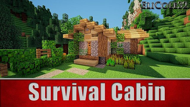 Survival cabin minecraft project for Small survival cabin