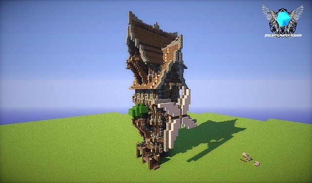 my first steampunk house [OLD PROJECT] Minecraft Project