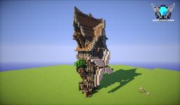 my first steampunk house  [OLD PROJECT] Minecraft Map & Project
