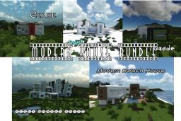 Modern House Bundle Minecraft Map & Project