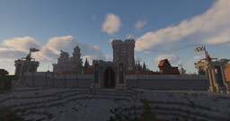 MEDIEVAL/CASTLE/KINGDOM Minecraft Map & Project