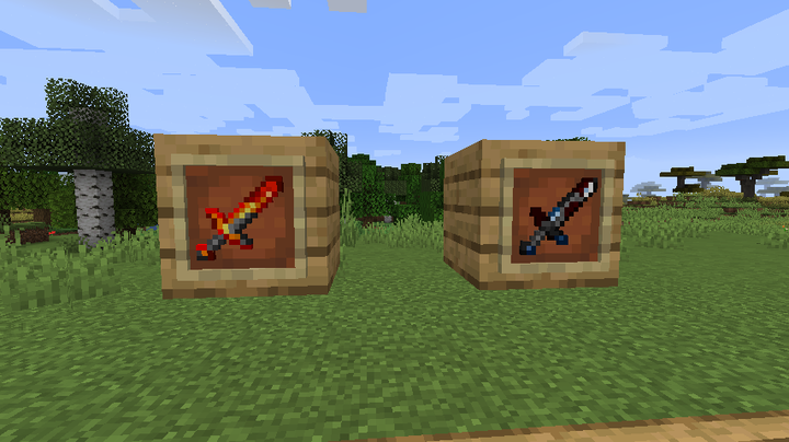 Popular Mod : Swords Mod
