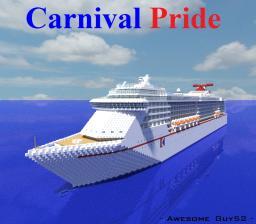 Carnival Pride [1:1 Scale Cruise Ship] Minecraft