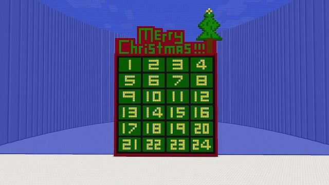 Christmas Calendar Minecraft Download : Minecraft advent calender project