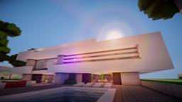 """Sunrise"" | Modern House | WoK Minecraft Map & Project"