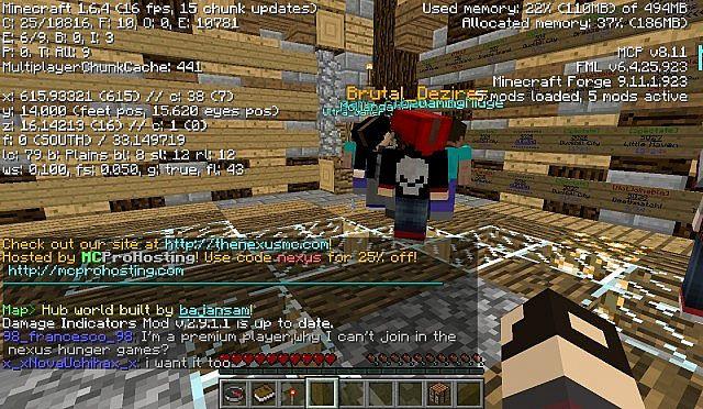 Dating Minecraft server 1.7.4musulmani matchmaking eventi UK