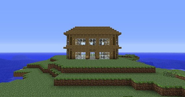 Nice Looking Wooden House 2 Minecraft Project