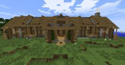 Big oldschool house with some redstone creations. Minecraft Project