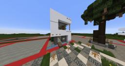 Small Modern House (10x10) Minecraft Map & Project