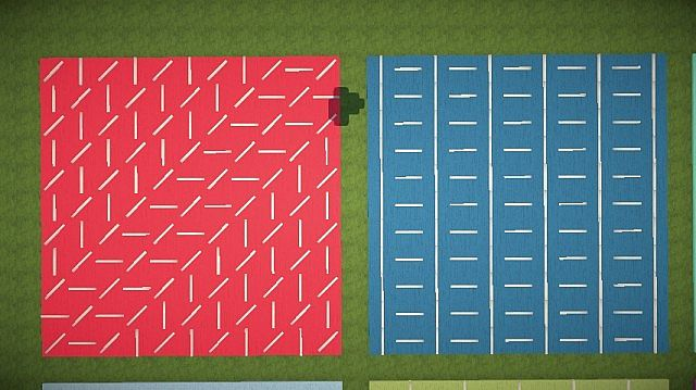 Carpet Designs Using Signs Minecraft Project