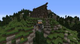 Nordic Map + Nordic Hall and houses Minecraft Map & Project