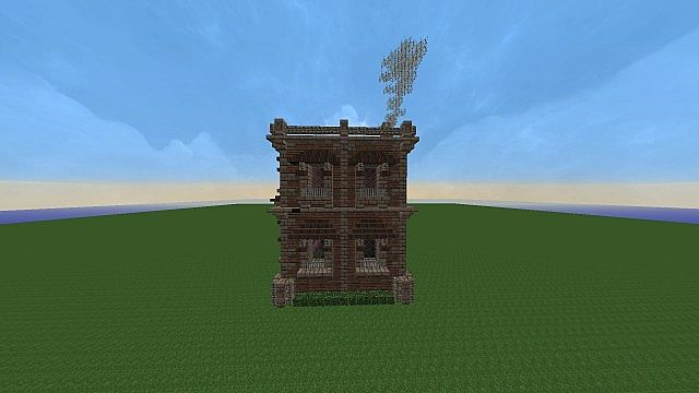 victorian apartment building minecraft project