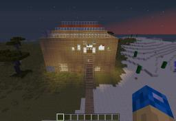 paradise house (awesome redsone base included, flip them switches.) Minecraft Project
