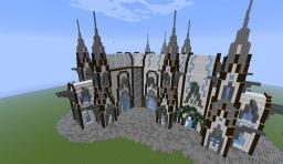 Medieval Style Cathedral Minecraft