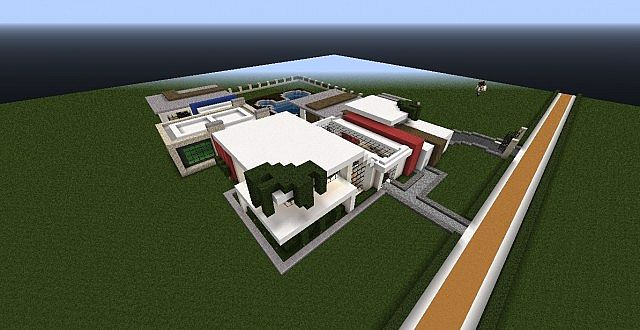 Modern House 3 Quartz House Minecraft Project