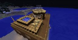 Private Island Beach House Minecraft Project