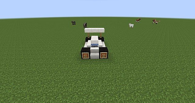 How To Build A Race Car In Minecraft