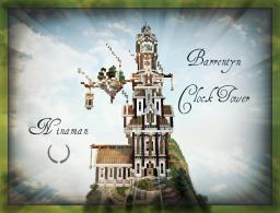 Barrentyn Clock Tower - [DOWNLOAD] - Steampunk - Ninaman - ATLANTIS preview Minecraft Map & Project