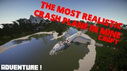 The most realistic crash plane - Paradise Island Minecraft Map & Project