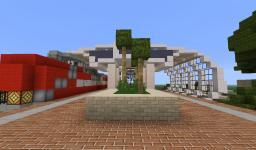 Small Modern Train Station Minecraft Project
