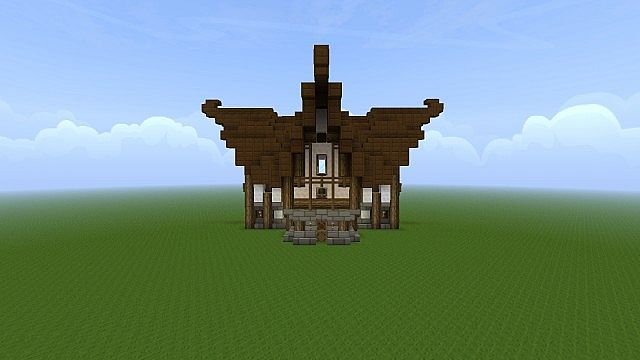 Nordic Fantasy House Minecraft Project