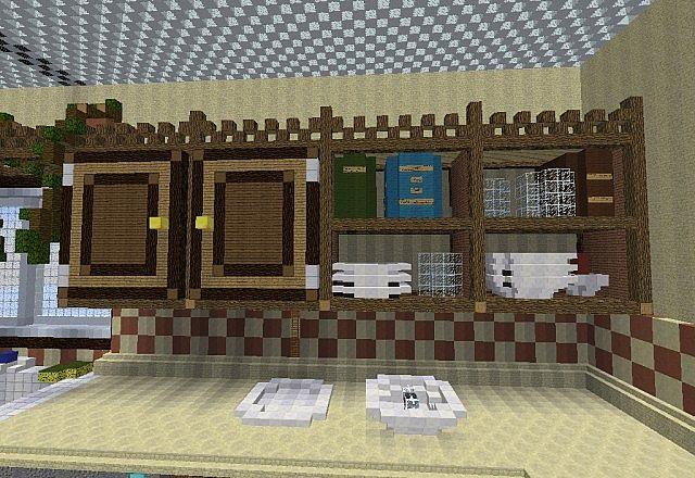 Kitchen Minecraft Project