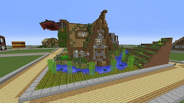 minecraft house designs planet with 32x32 Plot Build on Arch Of Enlightenment together with Little Nice Back Yard also Jamziboy Minecraft Gothic Style Manor further Gondolin as well 32x32 Plot Build.