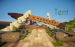 Tent - Ultramodern Home Minecraft Map & Project