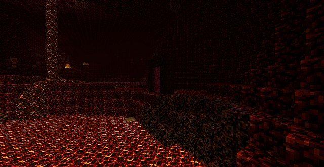 Custom lighting in the Nether!