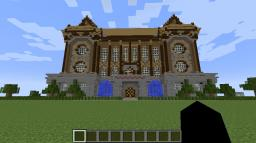 Artimis Fowl Manor (Huge Mansion) Minecraft Map & Project