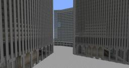 World Trade Center Plaza 1:1 scale Minecraft Map & Project
