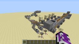 """Small Scale """"Rube Goldberg Device"""" TNT Cannon Minecraft Map & Project"""