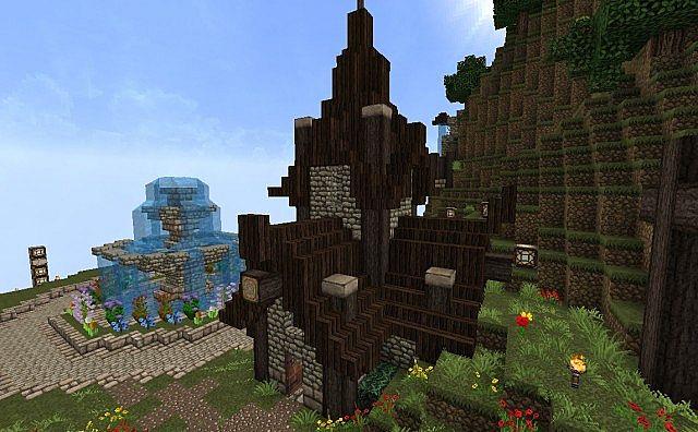 Amplified Steampunk Village
