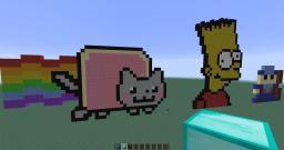 Pixer Art Minecraft Project