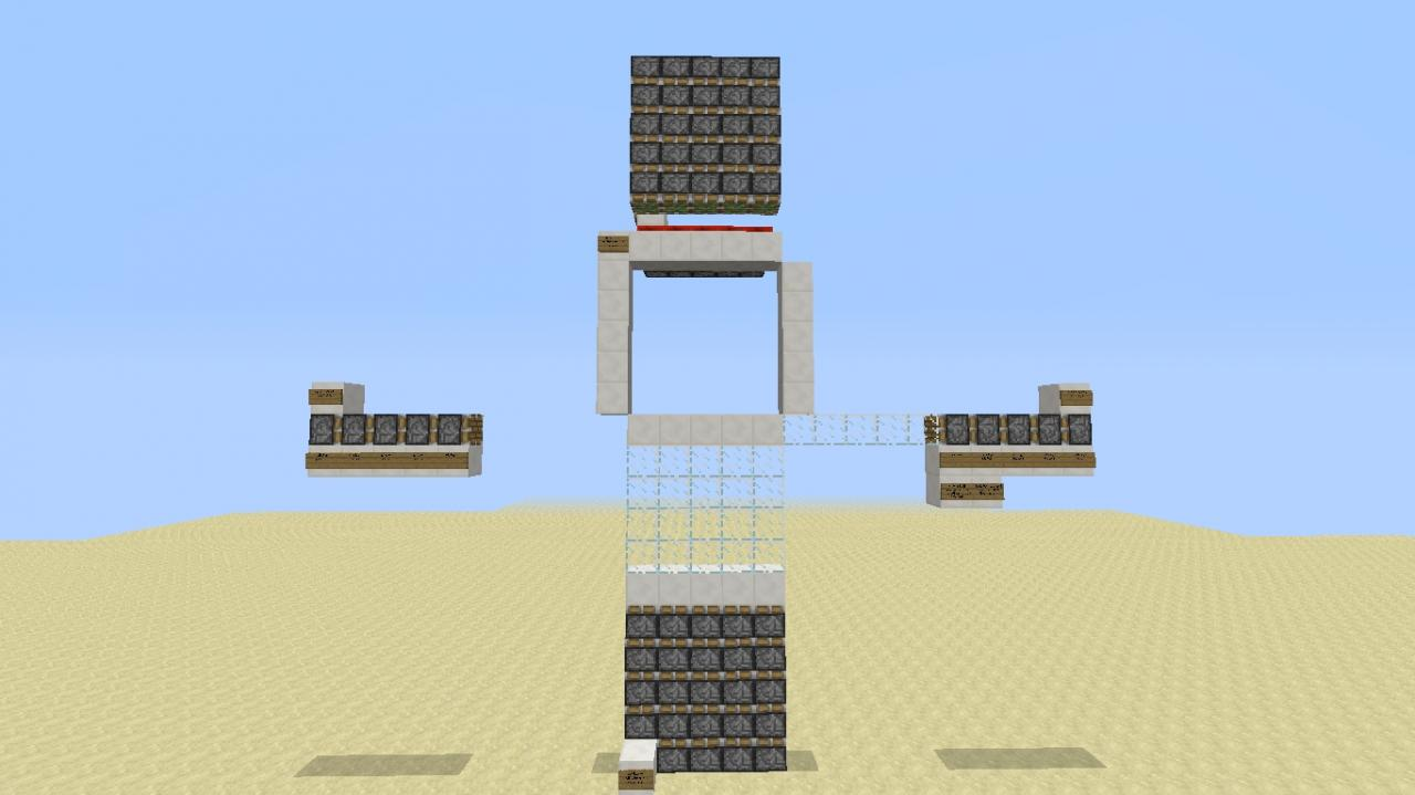 5x5 Glass Door ( Piston Layout )  sc 1 st  Planet Minecraft & 5x5 Glass Door ( Piston Layout ) Minecraft Project
