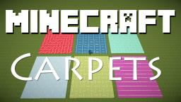 Carpet Designs Using Signs! Minecraft Map & Project