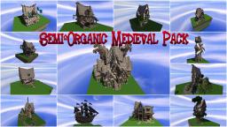 Semi-Organic Medieval Pack | ♦ DOWNLOAD ♦ Minecraft Project