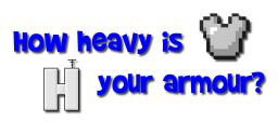 How heavy is your amour?[Pop-Reel!] Minecraft Blog