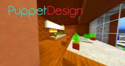 PuppetDesign: Japanese Interior Minecraft Map & Project