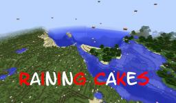 Raining Cakes [No Mods] Minecraft Blog Post