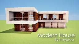 Modern House by heyaroo Minecraft Project
