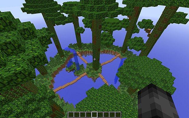 Super Craft Bros Map Jungle