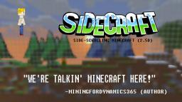 SideCraft (Side-scrolling Minecraft) v0.3.9.1 Minecraft Map & Project