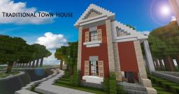 Traditional Townhouse #1 Minecraft Map & Project